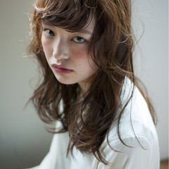 簡単 パーマ ストリート 前髪パーマ ヘアスタイルや髪型の写真・画像