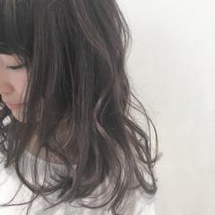 アッシュ ハイライト ナチュラル 外国人風カラー ヘアスタイルや髪型の写真・画像