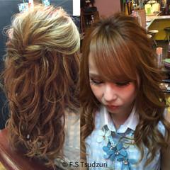 エクステ ガーリー ゆるふわ 渋谷系 ヘアスタイルや髪型の写真・画像