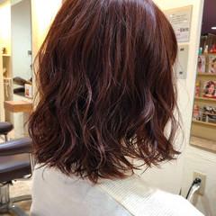 ナチュラルグラデーション N.オイル ピンク ロング ヘアスタイルや髪型の写真・画像