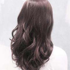 グラデーションカラー ロング ゆるふわ 暗髪 ヘアスタイルや髪型の写真・画像