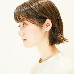 ナチュラル ミニボブ ショートヘア 外ハネボブ ヘアスタイルや髪型の写真・画像