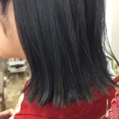 アッシュ 黒髪 暗髪 ストリート ヘアスタイルや髪型の写真・画像