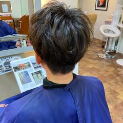 メンズカット メンズスタイル ツーブロック ショート ヘアスタイルや髪型の写真・画像