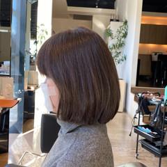 ロブ お手入れ簡単!! 抜け感 艶髪 ヘアスタイルや髪型の写真・画像