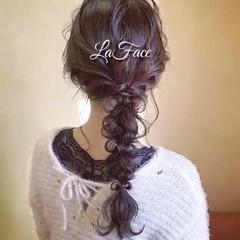 ロング お呼ばれ ヘアアレンジ パーティ ヘアスタイルや髪型の写真・画像