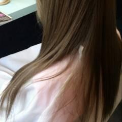 ストリート 黒髪 アッシュ ロング ヘアスタイルや髪型の写真・画像