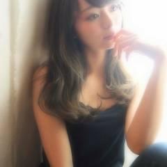 黒髪 秋 モテ髪 ロング ヘアスタイルや髪型の写真・画像