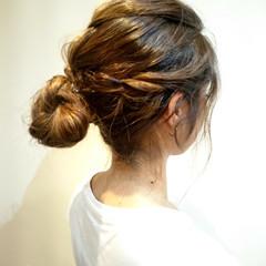 大人女子 ゆるふわ ヘアアレンジ ショート ヘアスタイルや髪型の写真・画像
