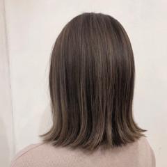 外国人風カラー ハイトーン ハイライト ナチュラル ヘアスタイルや髪型の写真・画像