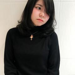 暗髪 アッシュ 外国人風カラー ストリート ヘアスタイルや髪型の写真・画像