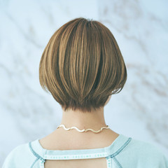 ナチュラル マッシュショート 大人ショート ハンサム ヘアスタイルや髪型の写真・画像