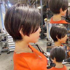 ショートボブ 大人ショート ショート ショートヘア ヘアスタイルや髪型の写真・画像