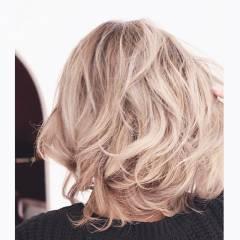 外国人風 ストリート グラデーションカラー ハイトーン ヘアスタイルや髪型の写真・画像