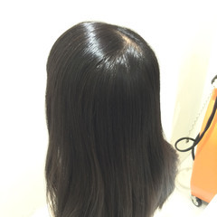 ナチュラル イルミナカラー ヘアアレンジ 黒髪 ヘアスタイルや髪型の写真・画像