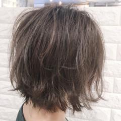 ボブ デート オフィス リラックス ヘアスタイルや髪型の写真・画像