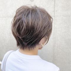 ボブ ショートボブ モテボブ 切りっぱなしボブ ヘアスタイルや髪型の写真・画像