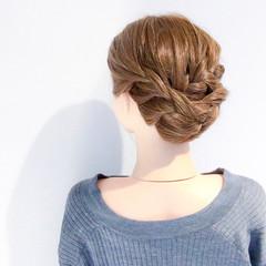 結婚式 上品 ロング デート ヘアスタイルや髪型の写真・画像