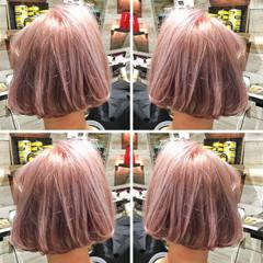 リラックス 外国人風 アンニュイ ハイライト ヘアスタイルや髪型の写真・画像