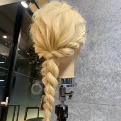 エレガント 結婚式ヘアアレンジ セルフヘアアレンジ ロング ヘアスタイルや髪型の写真・画像