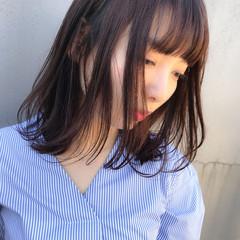 ラフ ボブ 大人女子 ナチュラル ヘアスタイルや髪型の写真・画像