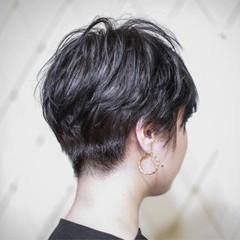 ショート 刈り上げ 外国人風 ストリート ヘアスタイルや髪型の写真・画像