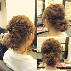 ヘアアレンジ 簡単ヘアアレンジ ボブ 夏 ヘアスタイルや髪型の写真・画像