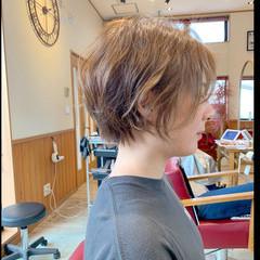ショートボブ ショートヘア フェミニン ベリーショート ヘアスタイルや髪型の写真・画像