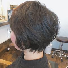 ナチュラル 大人女子 大人ヘアスタイル ショートボブ ヘアスタイルや髪型の写真・画像