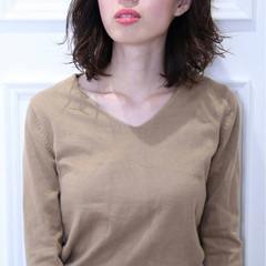 色気 ナチュラル 暗髪 冬 ヘアスタイルや髪型の写真・画像