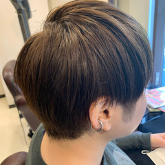 ショート ストリート ショートヘア ヘアスタイルや髪型の写真・画像