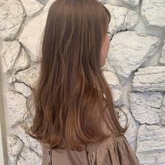 グラデーションカラー ヌーディーベージュ ミルクティーベージュ ベージュ ヘアスタイルや髪型の写真・画像