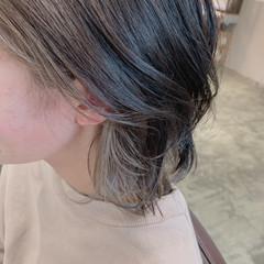 ストリート 大人可愛い レイヤーカット ミディアム ヘアスタイルや髪型の写真・画像