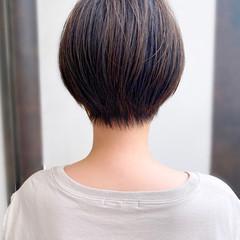 大人かわいい 簡単スタイリング ショートヘア ショートボブ ヘアスタイルや髪型の写真・画像