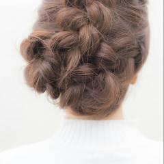 ヘアアレンジ ナチュラル 愛され ゆるふわ ヘアスタイルや髪型の写真・画像