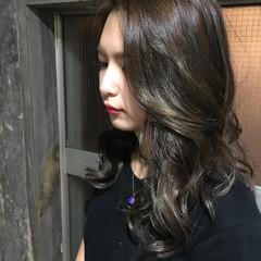 ローライト ハイライト 外国人風 ブリーチ ヘアスタイルや髪型の写真・画像