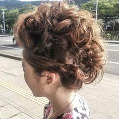 ヘアアレンジ ロング お祭り ヘアスタイルや髪型の写真・画像