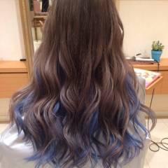 モード ストリート インナーカラー 渋谷系 ヘアスタイルや髪型の写真・画像