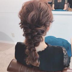 色気 結婚式 ミディアム 涼しげ ヘアスタイルや髪型の写真・画像