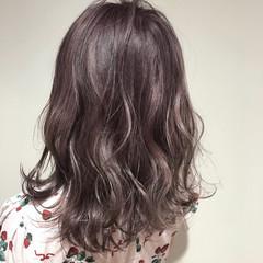 外国人風 透明感 ガーリー セミロング ヘアスタイルや髪型の写真・画像
