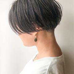 ハイライト ショート 大人女子 女子力 ヘアスタイルや髪型の写真・画像