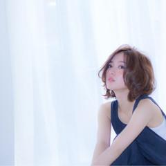 コンサバ ショート ゆるふわ フェミニン ヘアスタイルや髪型の写真・画像