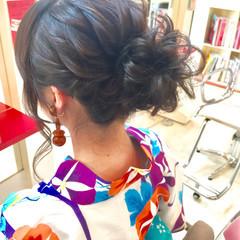 色気 ヘアアレンジ 涼しげ 編み込み ヘアスタイルや髪型の写真・画像