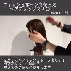 デート ルーズ ショート フェミニン ヘアスタイルや髪型の写真・画像