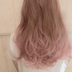 グラデーションカラー パンク 春 ロング ヘアスタイルや髪型の写真・画像
