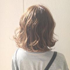 エアリー ボブ 外国人風 ストリート ヘアスタイルや髪型の写真・画像