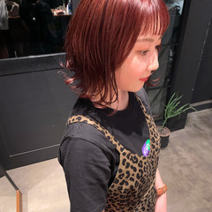 ガーリー ミニボブ ボブ ショートヘア ヘアスタイルや髪型の写真・画像