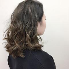 グラデーションカラー 外国人風カラー エレガント 大人かわいい ヘアスタイルや髪型の写真・画像