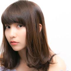 前髪あり 冬 ストレート ガーリー ヘアスタイルや髪型の写真・画像