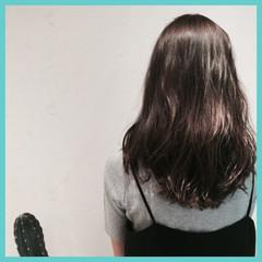 ナチュラル ロング カール 透明感 ヘアスタイルや髪型の写真・画像